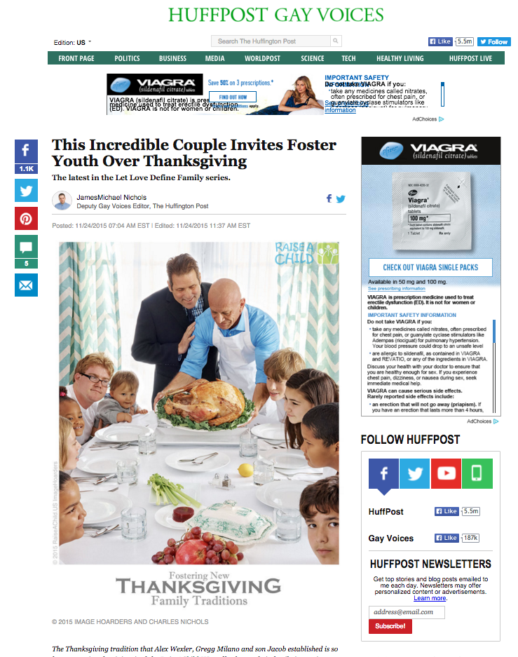Image Hoarders_Huffington Post_Thanksgiving